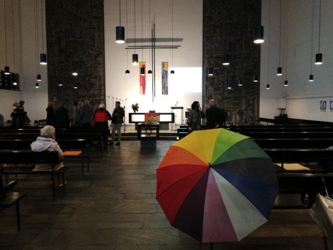Ein letzter Blick in die entwidmete Heilig-Geist-Kirche am 03.10.2020 [ga]